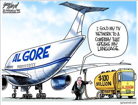 Algore airplane