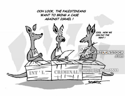 'Ooh look, the Palestinians want to bring a case against Israel!'