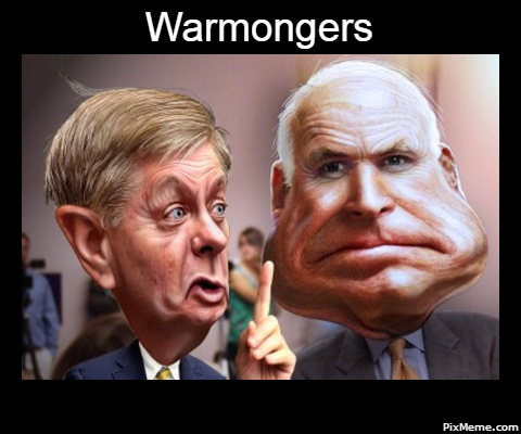 The Federalist: Lindsey Graham: The Happiest Warmonger Alive